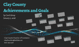 Clay County Achievements & Goals