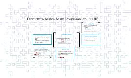 2 Estructura de un programa I