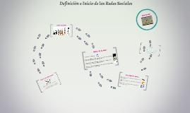 Definición e Inicio de las Redes Sociales