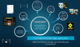Concientización del personal