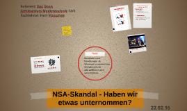 NSA-Skandal - Warum handeln wir nicht?