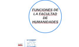 MARCO ORGANIZATIVO Y LEGAL DE LA FACULTAD DE HUMANIDADES