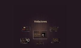 Violaciones