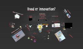 Hvad er innovation?