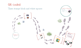 QR codes - what are those black and white squares?