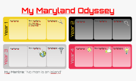 Copy of My Maryland Odyssey