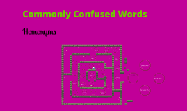 Hard Copy of Commonly Confused Words