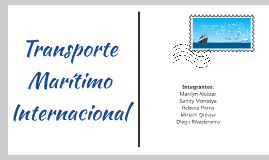 Transporte Maritimo Internacional