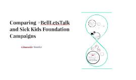 Comparing #BellLetsTalk and Make A Wish