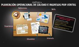 PLANEACIÓN OPERACIONAL DE CALIDAD E INGRESOS POR VENTAS