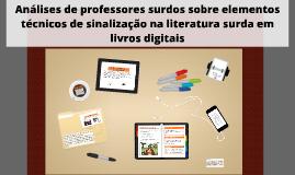 Copy of Análises de professores surdos sobre elementos técnicos de s