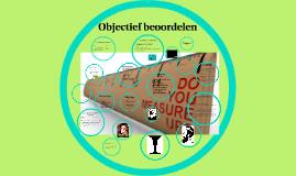 Copy of Objectief beoordelen