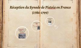 Réception du Synode de Pistoia en France (1786-1799)