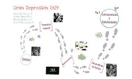 La gran depresión 1929