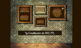 La Constitución de 1812 (II).