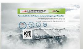 Copy of Potencialidades do Arduino na Aprendizagem por Projetos - XX SNEF