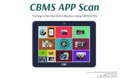 CBMS APP: Scan