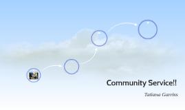 Community Service!!