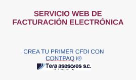 Crea tu primer CFDI - Tera Asesores SC