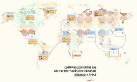 COMPARACION ENTRE LAS APLICACIONES MÁS UTILIZADAS DE ANDROID