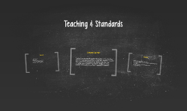 Teaching & Standards