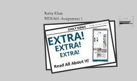 Rafay Khan Assignment 1