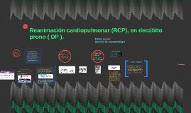 Reanimación cardiopulmonar en decúbito prono