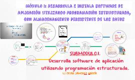 Copia de MÓDULO I: Desarrolla e instala software de aplicación utiliz