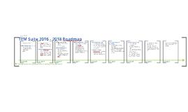 TEM Suite 2016-2018 Roadmap