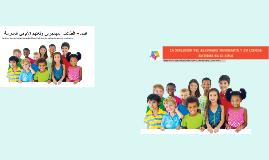Copy of La inclusión del alumnado inmigrante y su lengua materna en