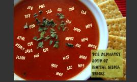 Alphabet soup of file extentions