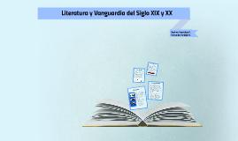 Copy of Literatura y Vanguardia del Siglo XIX