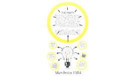 Copy of Manifesto 1984