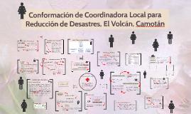 Conformación Coordinadora Local para Reducción de Desastres