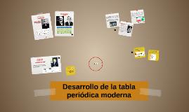 Desarrollo de la tabla peridica moderna by tannia galaz on prezi urtaz Images