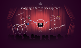 Vlogging: A face to face approach