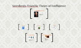 Sternberg's Multiple Intelligence Theory