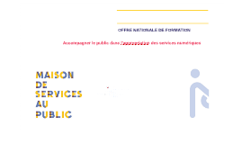 OFFRE NATIONALE DE FORMATION
