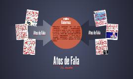 Copy of Atos de Fala