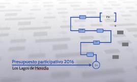 Presupuesto participativo 2016