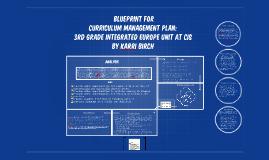 Copy of Curriculum Management Plan