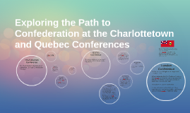 Exploring the Path to Confederation at the Charlottetown and
