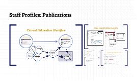 Current Publication Workflow