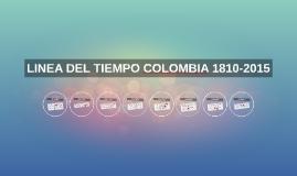Copy of LINEA DEL TIEMPO COLOMBIA 1810-2015