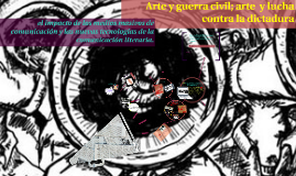 Copy of Arte y guerra civil; arte  y lucha contra la dictadura