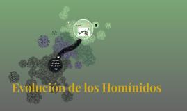 Evolución Hominina