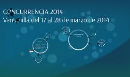 CONCURRENCIA 2014