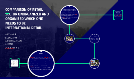 COMPARISON OF RETAIL SECTOR UNORGANIZED AND ORGANIZED WHICH