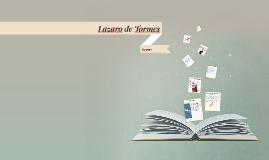 Copy of Lazaro de Tormes