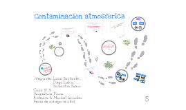 Copy of Contaminación atmosférica